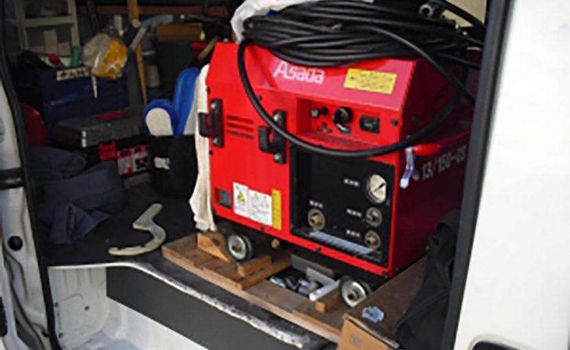 高圧洗浄機を使って排水管清掃