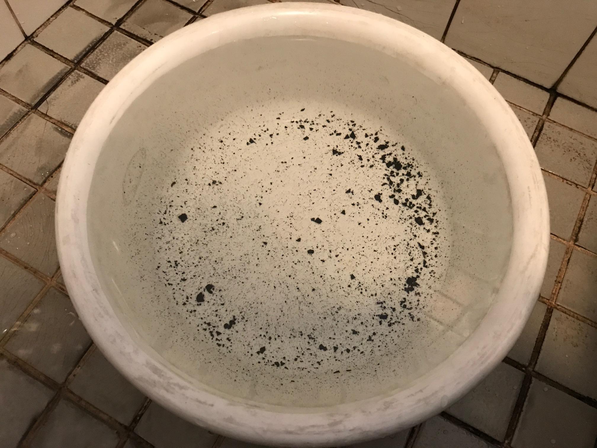 井戸水マンガン